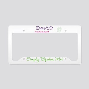 Simply Bipolar Me License Plate Holder